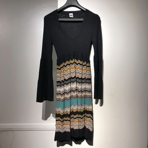 Vintage Missoni Dress with Bell Sleeve